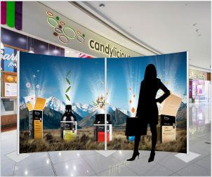 modular display screen 200x400