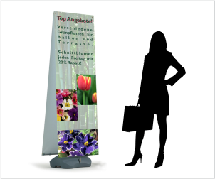 outdoor banner display flexi