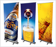 rollup banner display