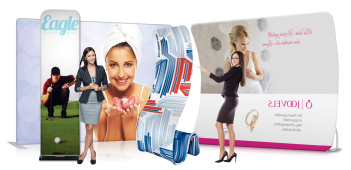 sistem textile tension fabric displays